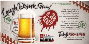 Laugh, Drink, Give! - Lagunita's Fundraiser